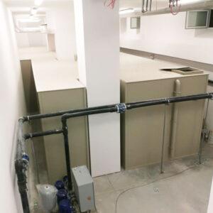 bezciśnieniowy zbiornik na wodę do zabudowy wewnętrznej wykorzystanie ciasnych miejsc