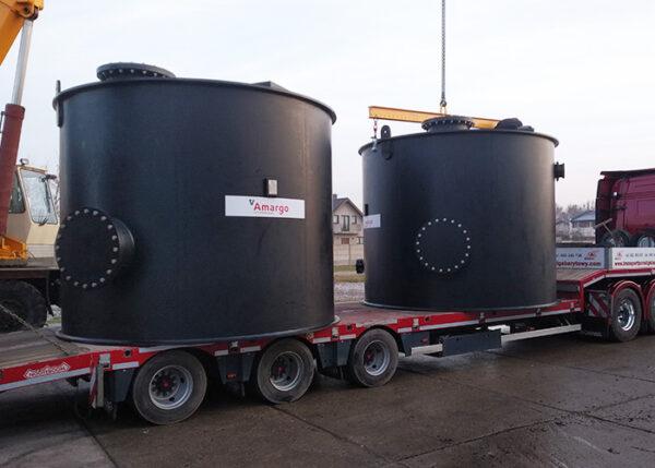 kompleksowe wykonanie zbiorników bezciśnieniowych z tworzyw termoplastycznych pp pe pehd