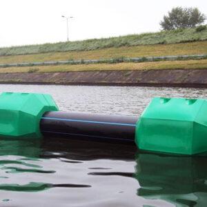 Pływaki do rur hydrotransportu odporne z tworzywa PEHD