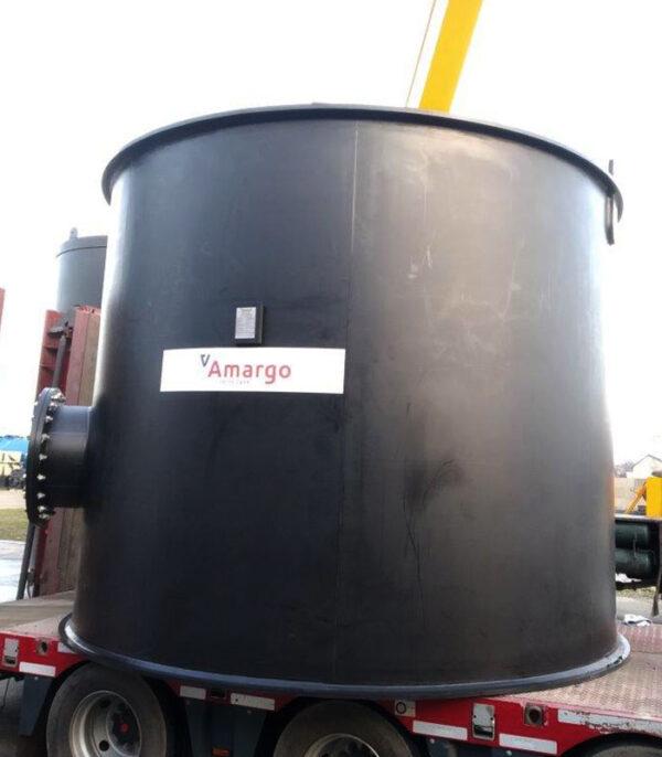 zbiornik procesowy z polietylenu pe produkcja dla zakładów azotowych