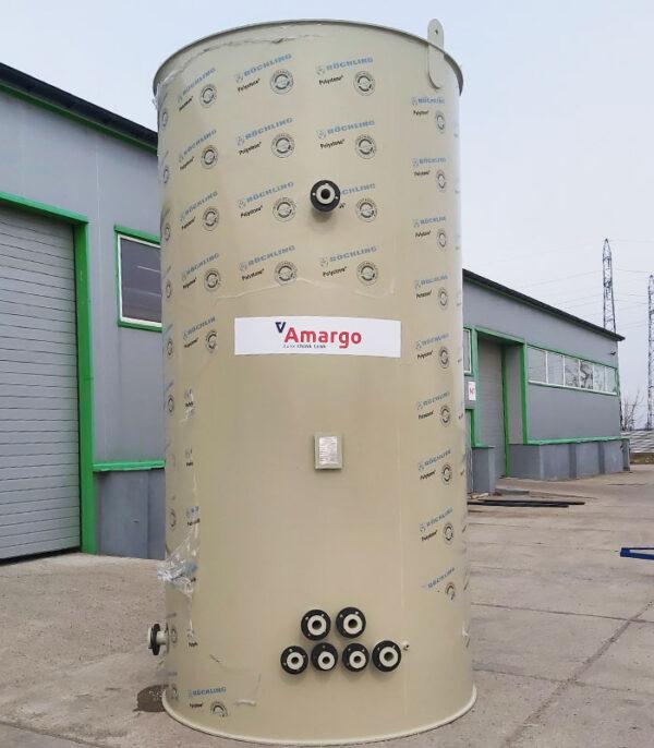 zbiornik procesowy z tworzywa sztucznego i z wyposażeniem zastosowanie w technologiach przemysłowych produkcja i transport do klienta